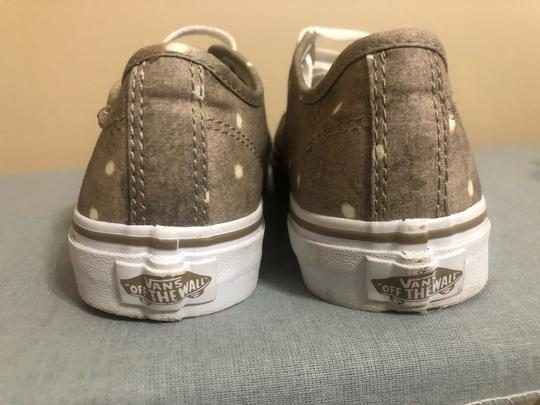 Vans Beige and White Athletic Image 1