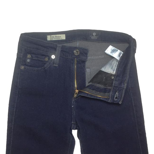 AG Adriano Goldschmied The Prima Mid Rise Cigarette Women Size 25 Size 25 Skinny Jeans Image 4