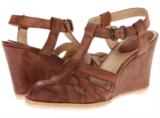 Frye Tan Wedges Image 0