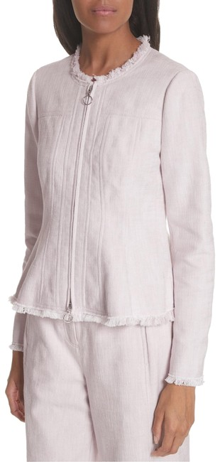 Preload https://img-static.tradesy.com/item/26039967/rebecca-taylor-blush-slub-woven-jacket-size-10-m-0-2-650-650.jpg