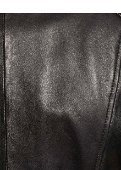 Andrew Marc black Leather Jacket Image 5