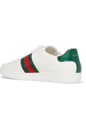 Gucci Ace Ace Sneaker Sneaker white Athletic Image 1