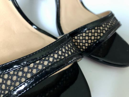 Reed Krakoff Python Ankle Tie & Stiletto Sexy Black and White Sandals Image 1