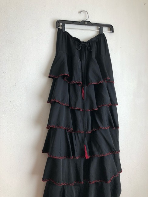 Double D Ranchwear Maxi Skirt black Image 1