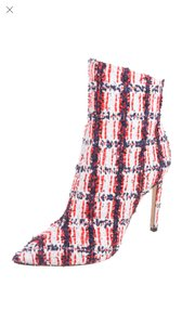 Jimmy Choo Red White Blue Boots