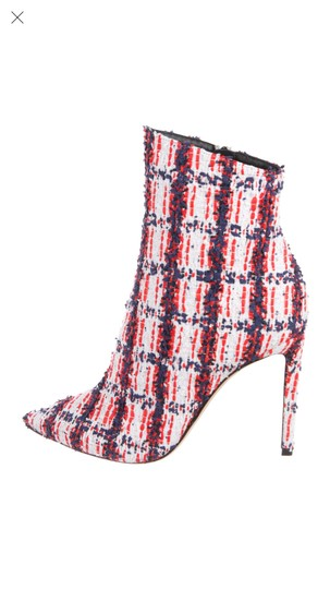 Jimmy Choo Red White Blue Boots Image 3