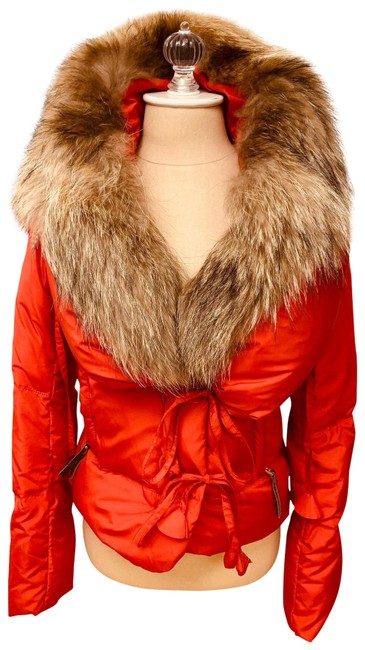Preload https://img-static.tradesy.com/item/26040045/meli-melo-red-puffer-with-detachable-fur-collar-coat-size-4-s-0-3-650-650.jpg