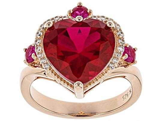 Preload https://img-static.tradesy.com/item/26040059/red-created-ruby-562ctw-18k-rose-gold-over-silver-size-9-ring-0-0-540-540.jpg