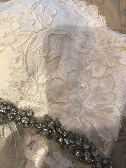 Pnina Tornai Bridal Formal Wedding Dress Size 6 (S) Image 8