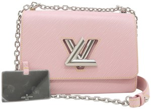 Louis Vuitton Lv Twist Mm Epi Shoulder Bag