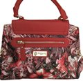 Sharif Satchel in Red and Floral