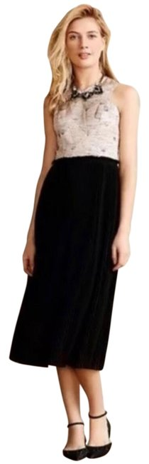 Item - Black Silver and Pink Mid-length Formal Dress Size 8 (M)