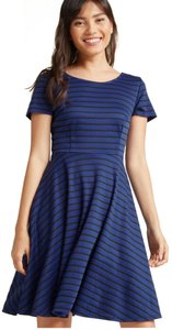 Modcloth short dress Blue A-line on Tradesy
