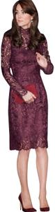 Dolce&Gabbana Sheath Lace Fitted Luxury Floral Dress