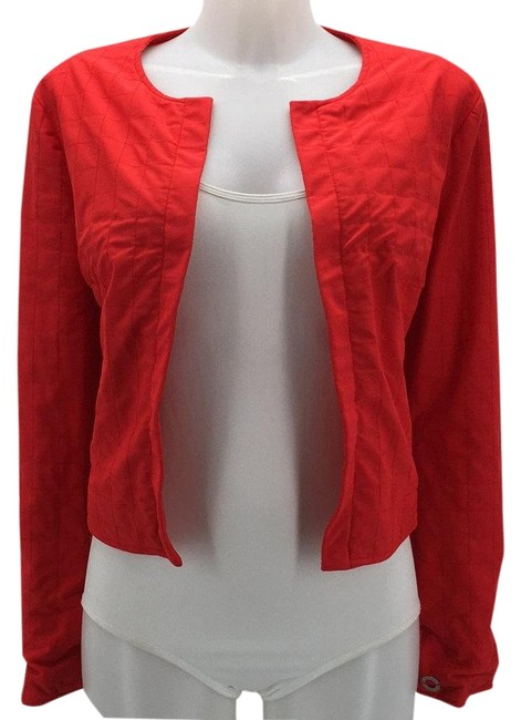 Item - Red Identification Embroidered Jacket Size 8 (M)