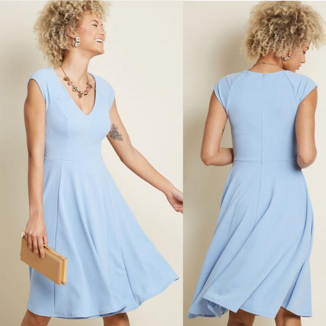 Modcloth A-line Short Sleeve Dress Image 1