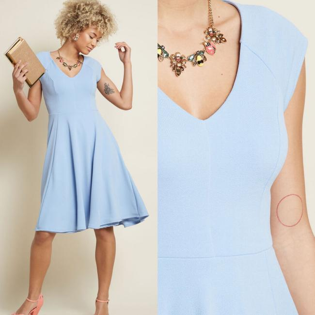Modcloth A-line Short Sleeve Dress Image 2