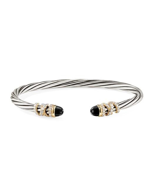 David Yurman Helena with Black Onyx and Diamonds Bracelet David Yurman Helena with Black Onyx and Diamonds Bracelet Image 1