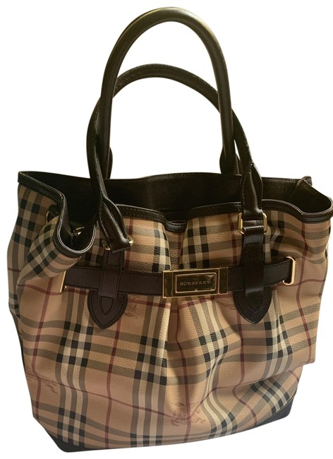 Item - Brown/Camel Leather Tote
