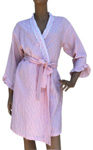Eileen West short dress PINK AND WHITE on Tradesy