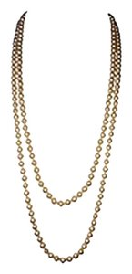 Givenchy Givenchy Double-Strand Pearl Necklace