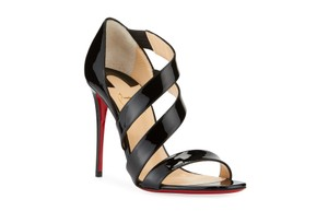 Christian Louboutin Pigalle So Kate Strappy Black Pumps
