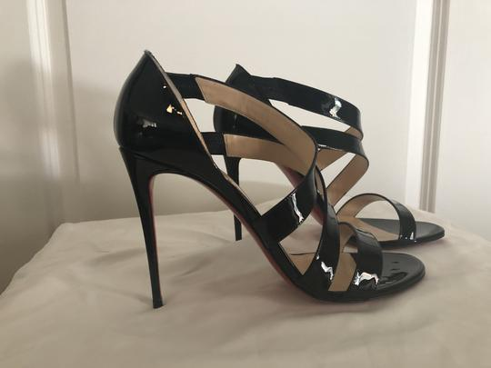 Christian Louboutin Pigalle So Kate Strappy Black Pumps Image 1