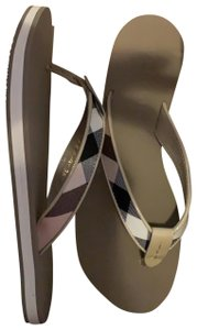 Burberry Trench Plaid Sandals