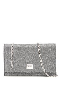 Jimmy Choo Lizzie Lag Anthr Multicolored Clutch