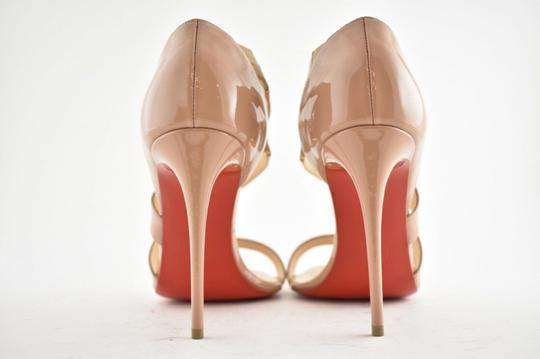 Christian Louboutin Pigalle Stiletto Classic Ankle Strap Drama nude Pumps Image 10