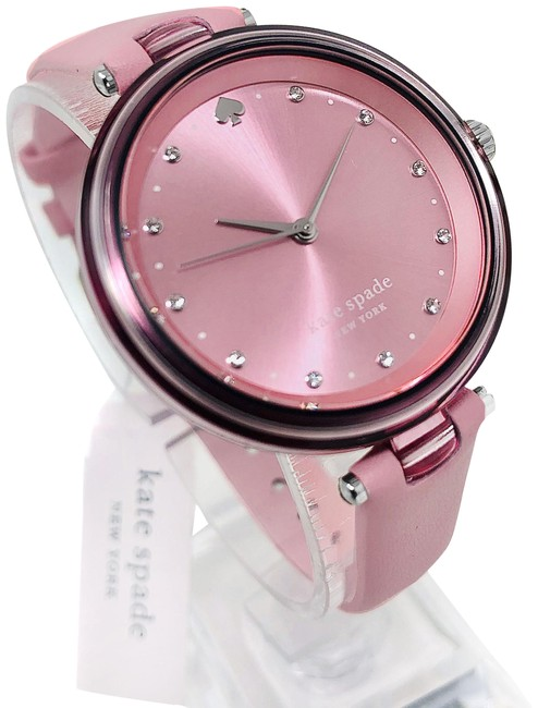 Item - Pink New Holland Three-hand Leather Ksw1517 Watch
