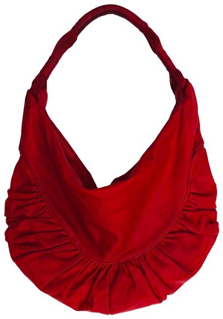 Item - Gypsy Red Leather Hobo Bag