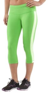 Lululemon LULULEMON RUN Proceed With Speed Crop IN FROND -SIZE 6