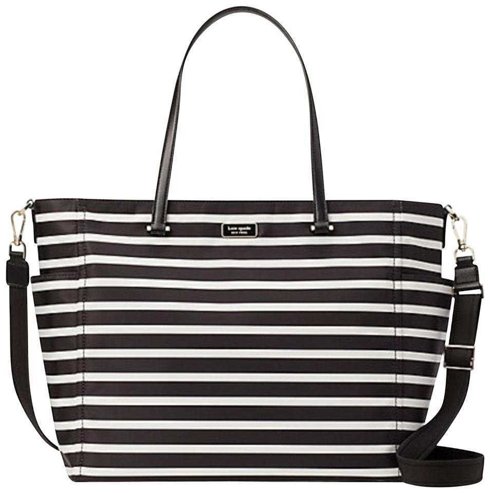 Kate Spade Dawn Sailing Stripes Nylon Diaper Bag