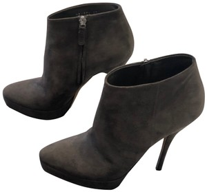 Gucci Stiletto Charcoal Grey Boots