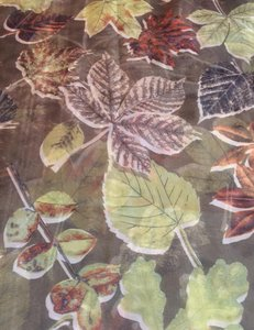 Collection Eighteen gorgeous sheer floral scarf