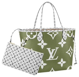 Louis Vuitton Tote in Green Khaki