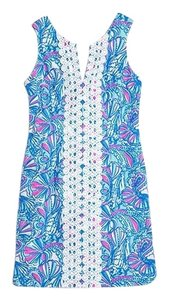 Lilly Pulitzer for Target short dress blue and pink on Tradesy