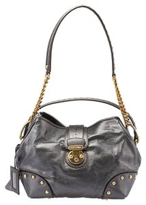 Dolce&Gabbana D&g Studded Leather Shoulder Bag