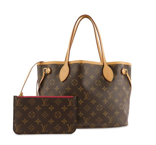 Preload https://img-static.tradesy.com/item/26046060/louis-vuitton-neverfull-pm-brown-monogram-canvas-tote-0-3-540-540.jpg