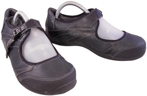 Ahnu Teva Mary Janes Woman Size 9 BLACK Wedges