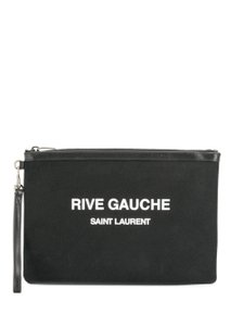 Saint Laurent Wristlet in Black