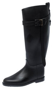 Burberry Belted Black Boots