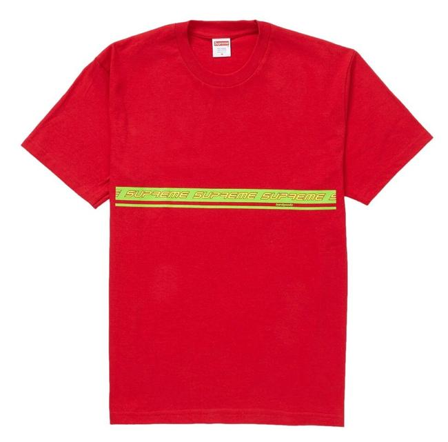 Supreme Red Tee Shirt Size 8 (M) Supreme Red Tee Shirt Size 8 (M) Image 1
