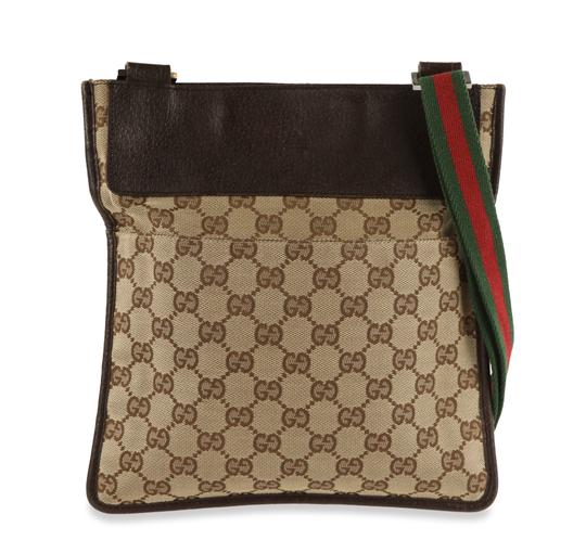 Preload https://img-static.tradesy.com/item/26049004/gucci-gg-sherry-line-brown-canvasleather-messenger-bag-0-2-540-540.jpg