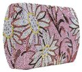 Judith Leiber Crystal Studded Daisymay Purse Floral Multi Color Clutch