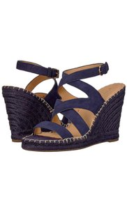 Joie navy blue Wedges