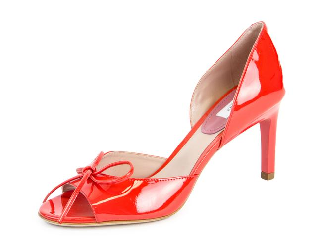 Item - Coral Lazio Patent Leather Sandals Size US 8 Regular (M, B)
