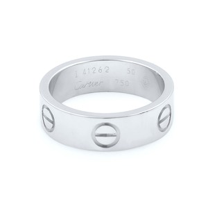 Cartier Love Band Ring Size 5.25