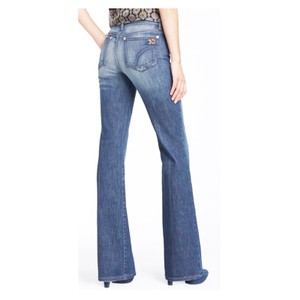 JOE'S Jeans Flared Light Wash Stretchy Fitted Boot Cut Jeans-Light Wash